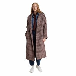 NWT Levi's Wool Coat Vintage Inspired Check Small